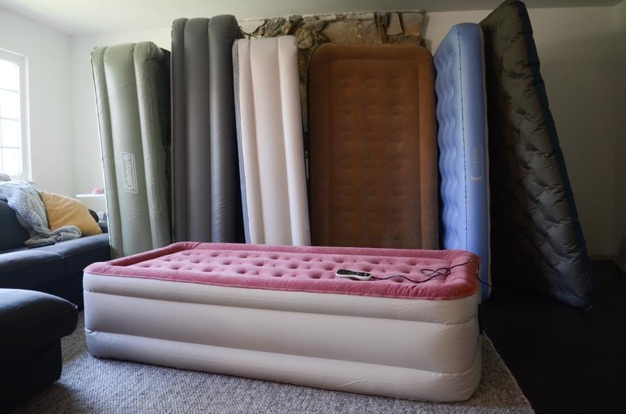 Air mattress RV