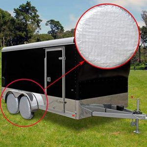 Ideal for wheel tire covers use on RV, trailers, campers, cars and trucks;