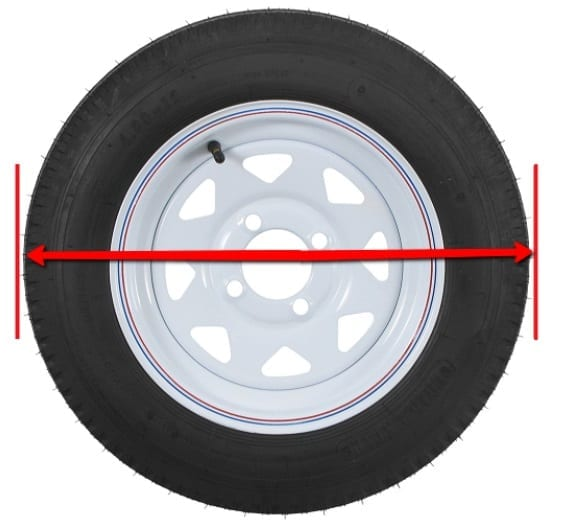 RV Tire Covers Size Guide