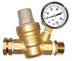 Adjustable RV Water Pressure Regulator