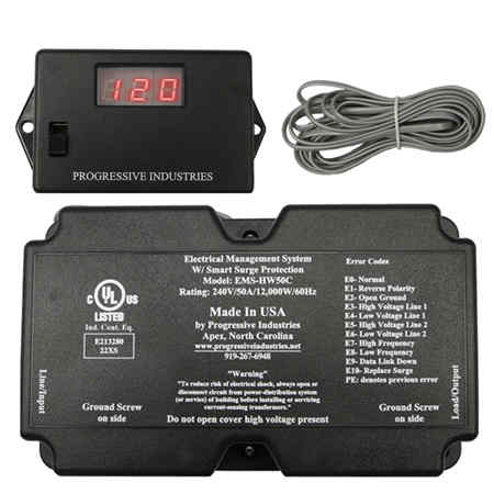 big power surge protector for the whole RV