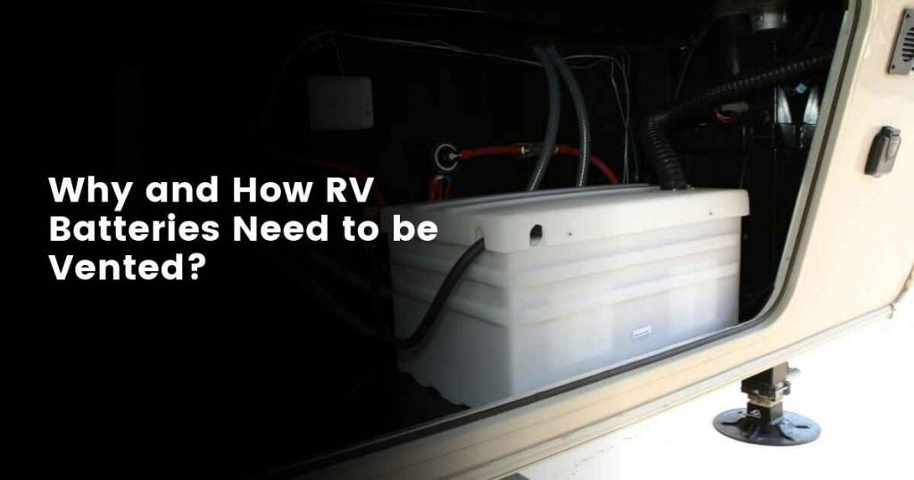 How are RV batteries vented