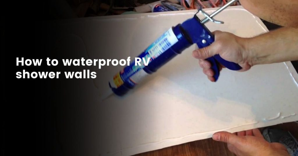 Waterproof RV Shower Wall Panels
