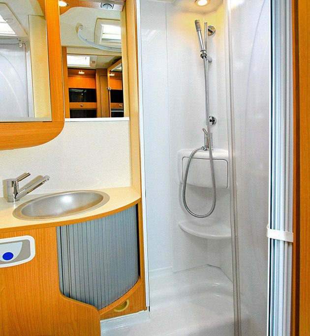 RV shower and sink