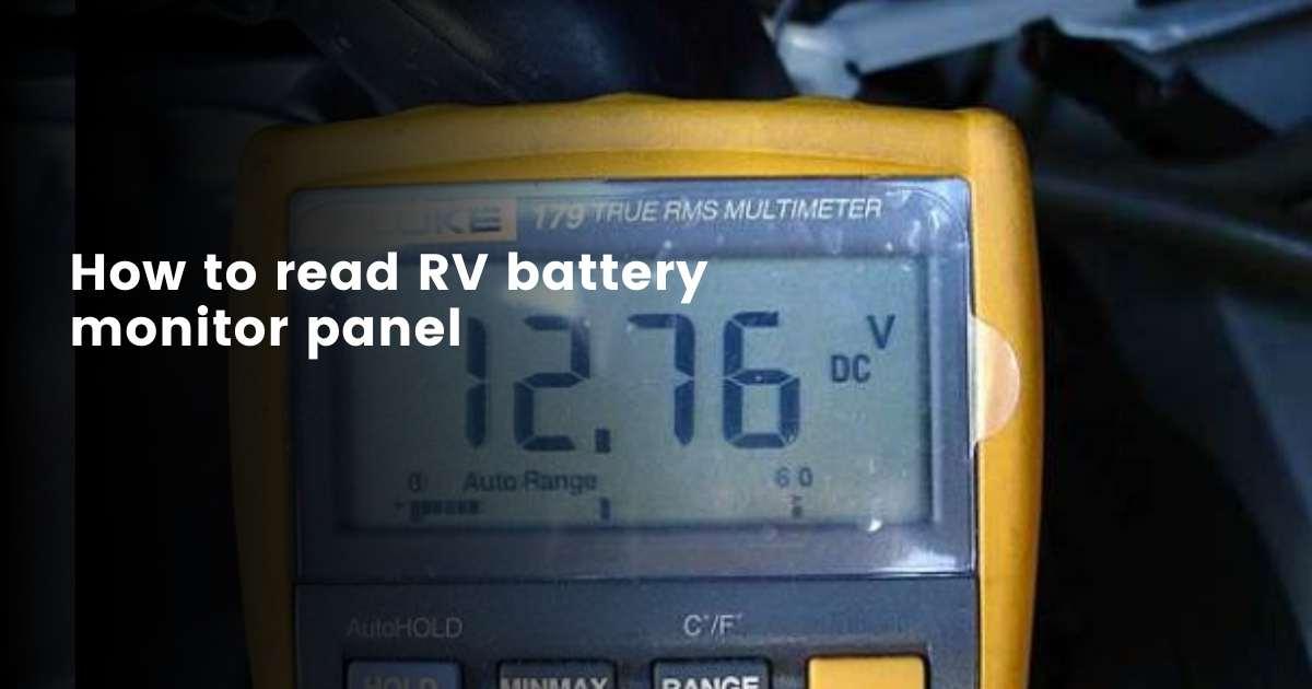 Normal voltage reading