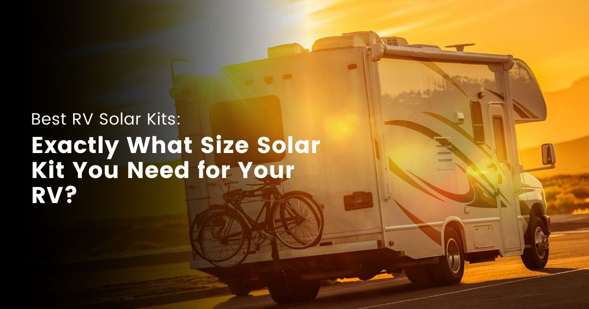 Best RV Solar Kits