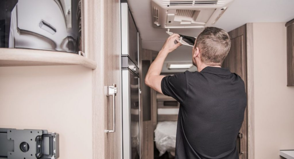 Replacing an RV Air Conditioner Filter