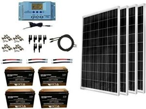 Long lasting RV solar panel kits
