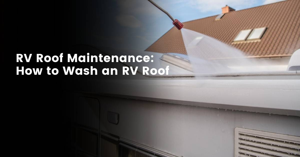 RV Roof Maintenance