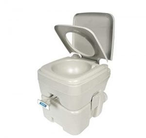 setting up a camco portable toilet