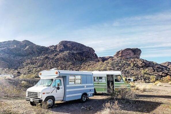 Free Campsite at Craggy Wash in Lake Havasu, Arizona