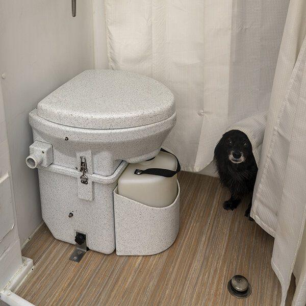 portable composting toilet great for camper vans