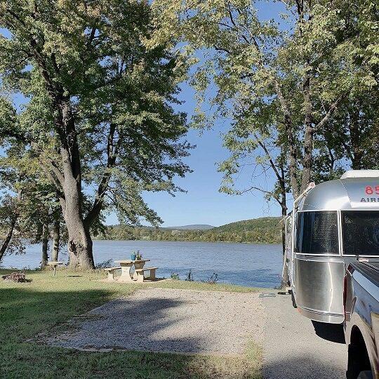 Corps Campgrounds Aux Arc Park Arkansas River