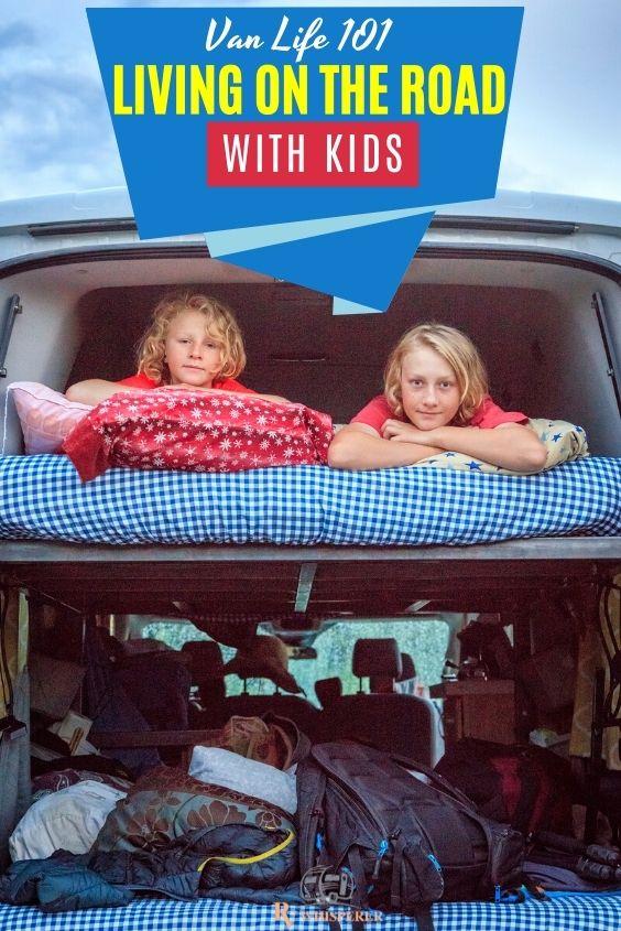 Van life with kids tips