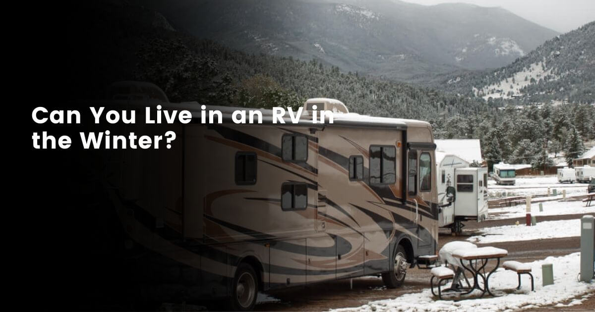 Winter Living in An RV