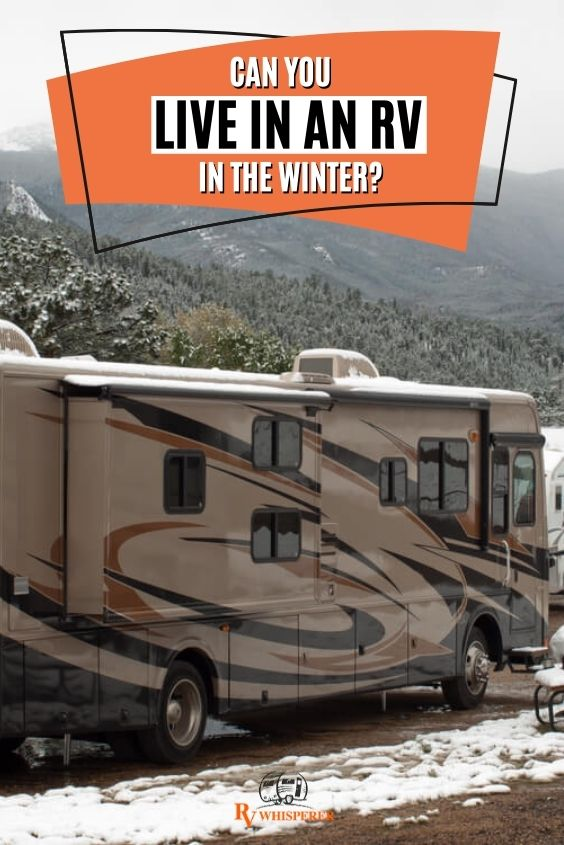 How to stay warm in your rv in the winter