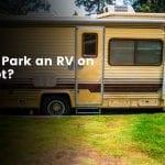 Can You Park an RV on the Street?