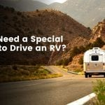 Do You Need a Special Licence to Drive An RV?