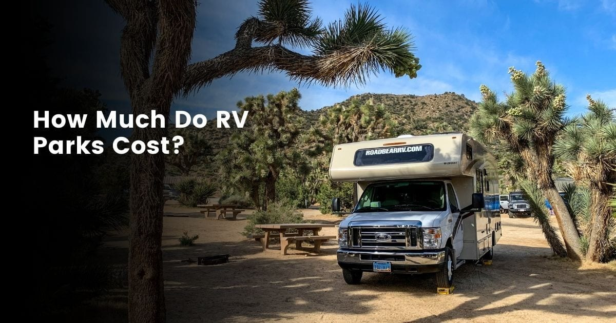 Average weekly, nightly and monthly RV parks costs