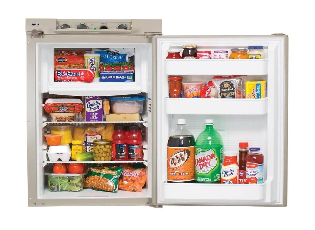 A three way fridge