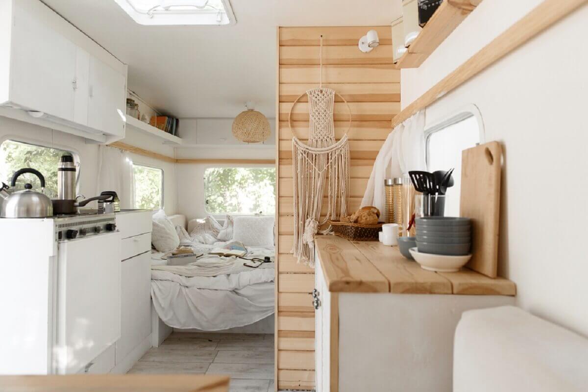 Remodeling RV Kitchen Interior Ideas