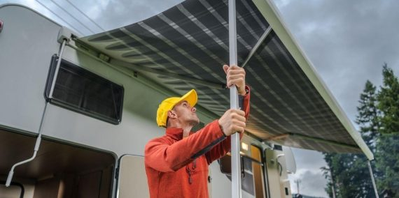 How To Clean RV Awning and Keep Mildew Off
